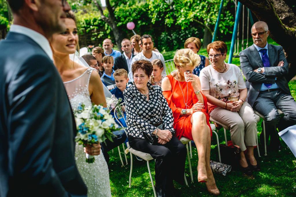 Bruiloft intiem en landelijk
