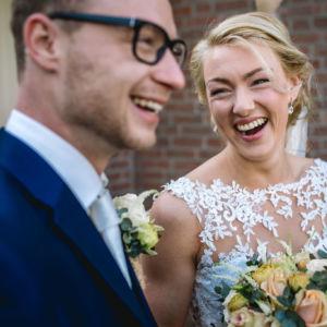 Bruiloft Myron en Carina