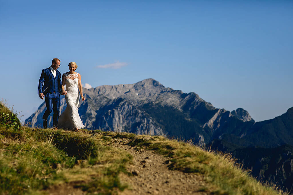 after wedding shoot in het buitenland