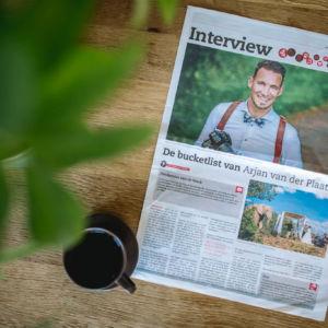 Fotograaf Arjan van der Plaat in het nieuws