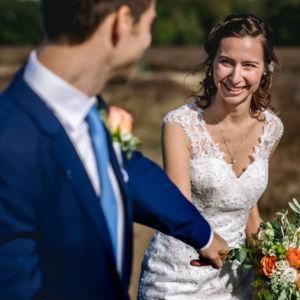 Bruiloft in Ede Stefan en Hanneke