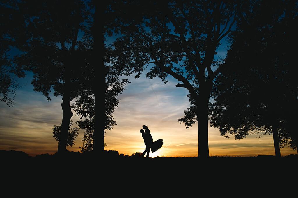 trouwen in dordrecht zonsondergang