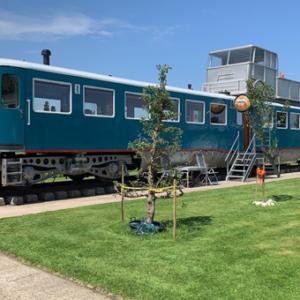Bruidssuite huren in een Vintage trein?