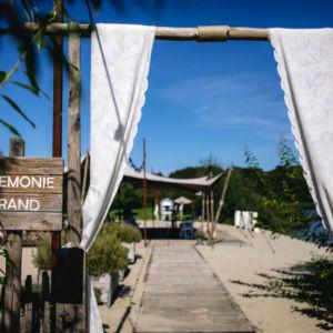 Bruiloft bij trouwlocatie het houtse meer den hout