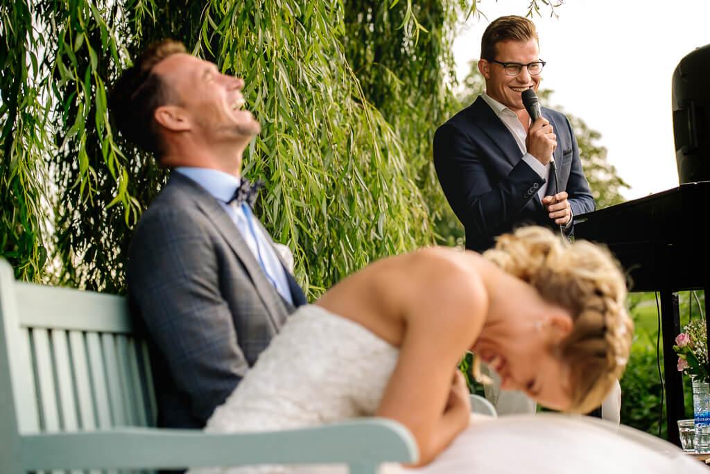 beneden sas bruiloft