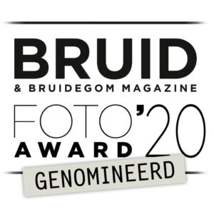 The Wedding Story genomineerd Bruidsfoto Award 2020