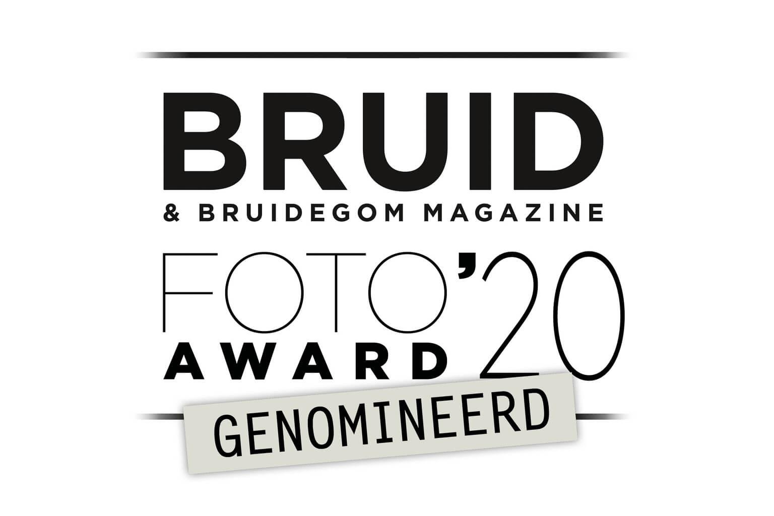 The Wedding Story genomineerd bruidsfoto award 2020